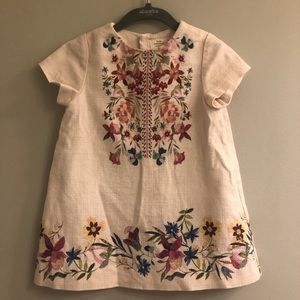 ZARA Baby Girl Floral Dress